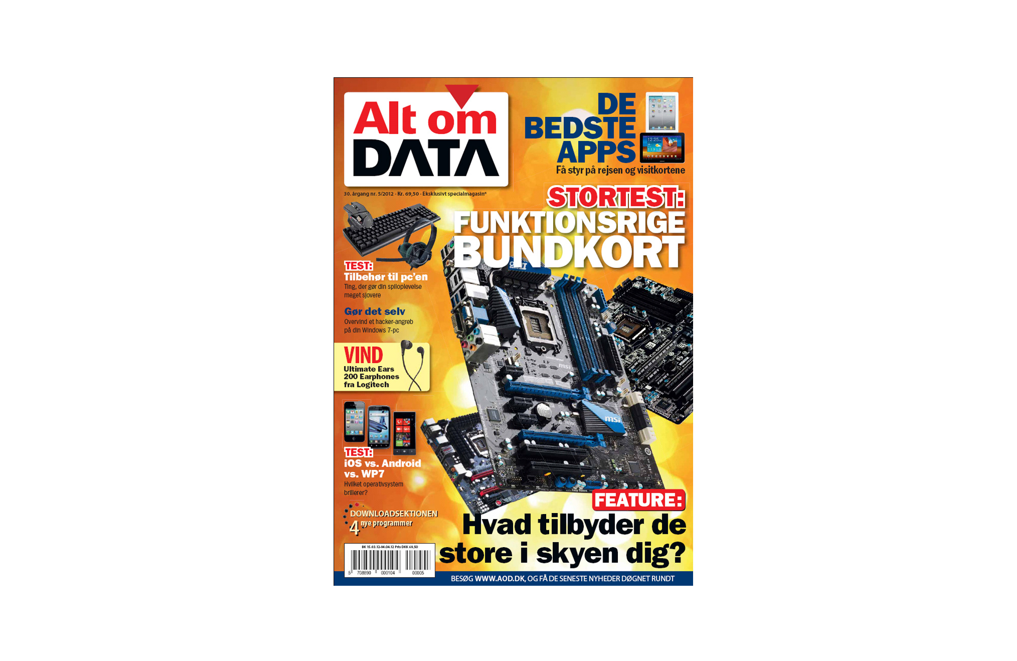 Alt om DATA tester bundkort