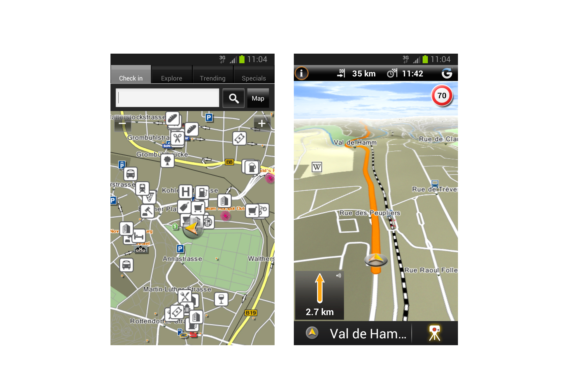 garmin forbedrer mobilnavigationen alt om data datatid. Black Bedroom Furniture Sets. Home Design Ideas