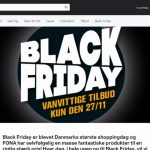 Black Friday i Fona
