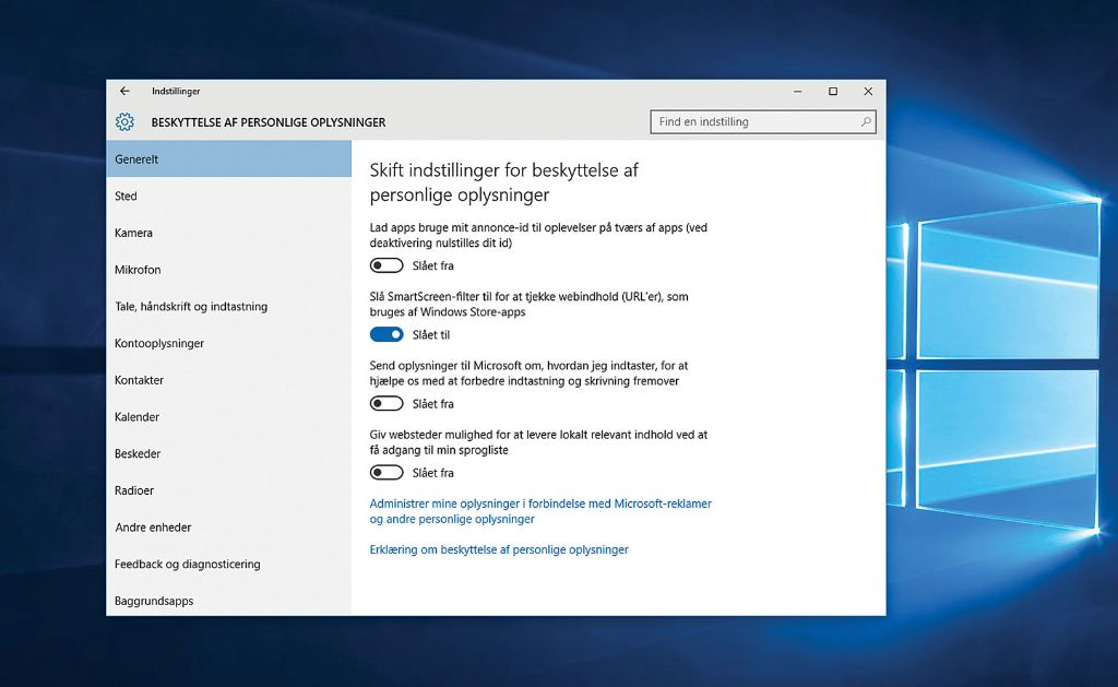 Guide: Få et helt sikkert Windows 10