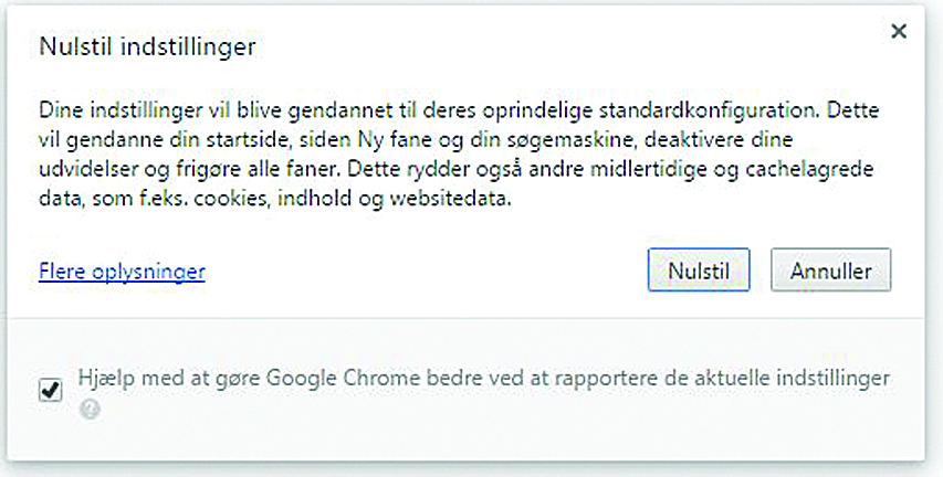 Chrome Cleanup Tool er sidste chance for browseren