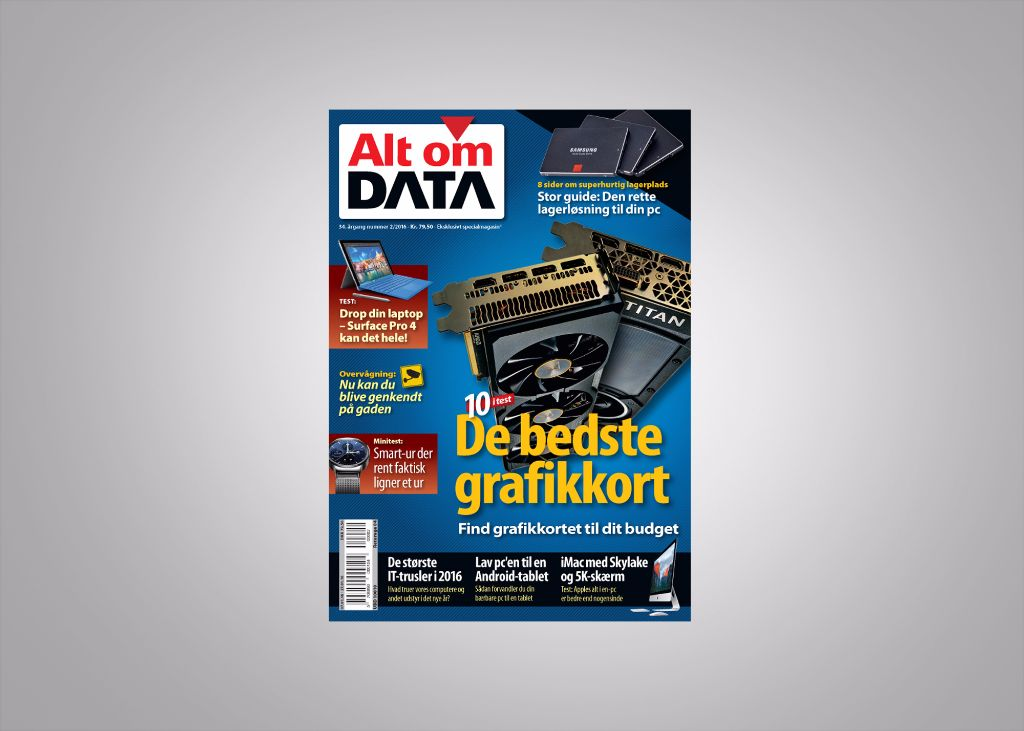 Alt om DATA tester grafikkort