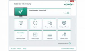 Kaspersky Total Security Multi-Device.