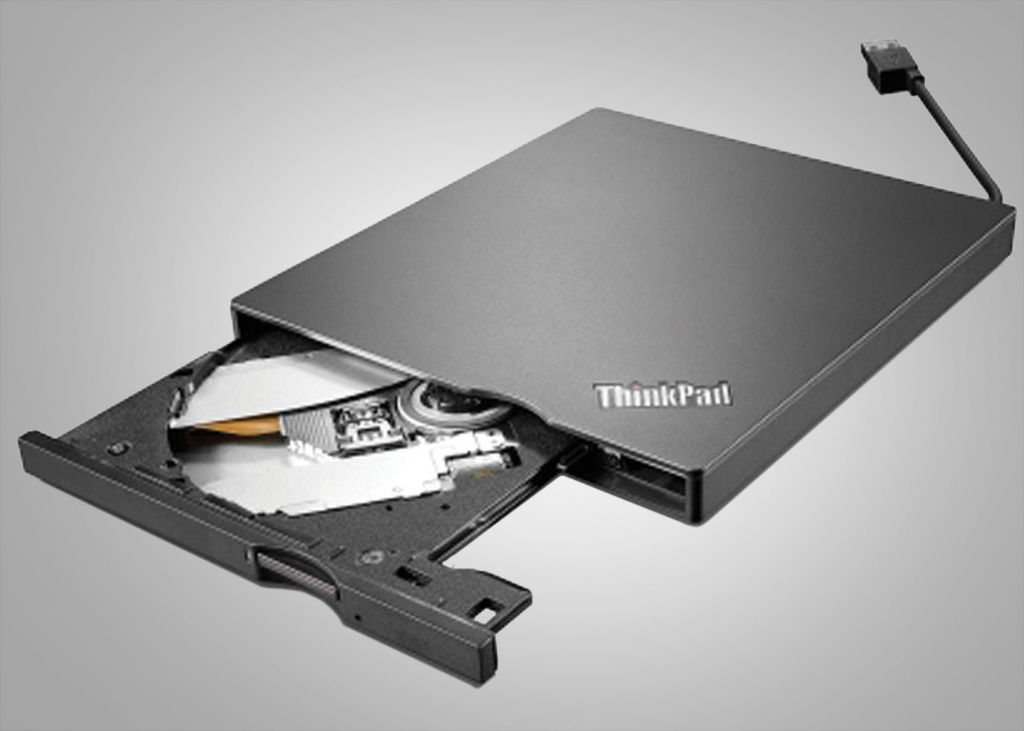 Lenovo UltraSlim DVD Burner.