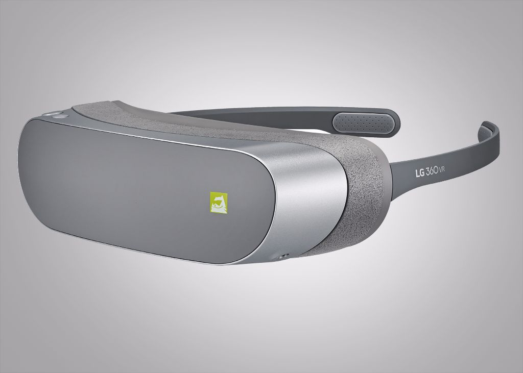 Foldbar virtual reality-brille fra LG