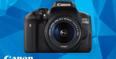 Canon EOS 750D konfirmationskonkurrence.