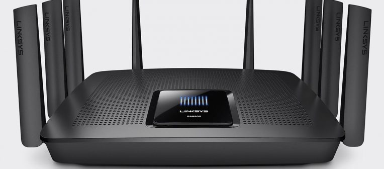 EA9500 Max-Stream AC5400 Tri-Band med MU-MIMO, router-løsning.