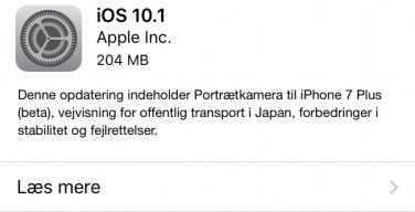 Apple iOS 10.1.