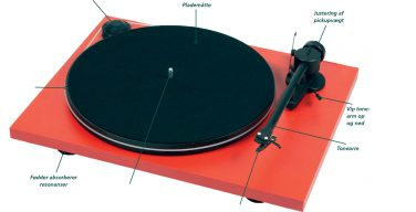Pro-Ject pladespiller.