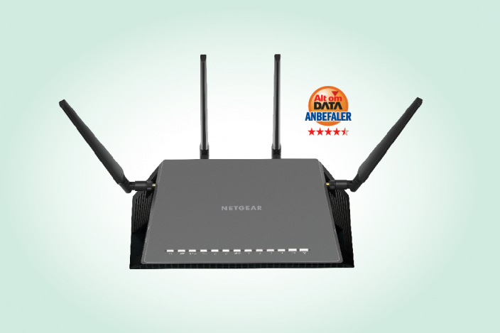 Netgear Nighthawk X4S R7800 [TEST]: Featurespækket Wi-Fi-router