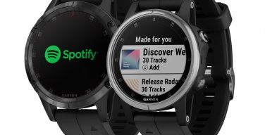 Garmin Spotify on Fenix.