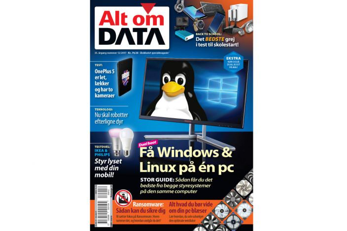 Få en super-pc med både Windows og linux