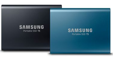 Samsung Portable SSD T5.