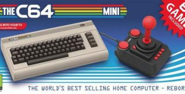 Commodore 64 mini.