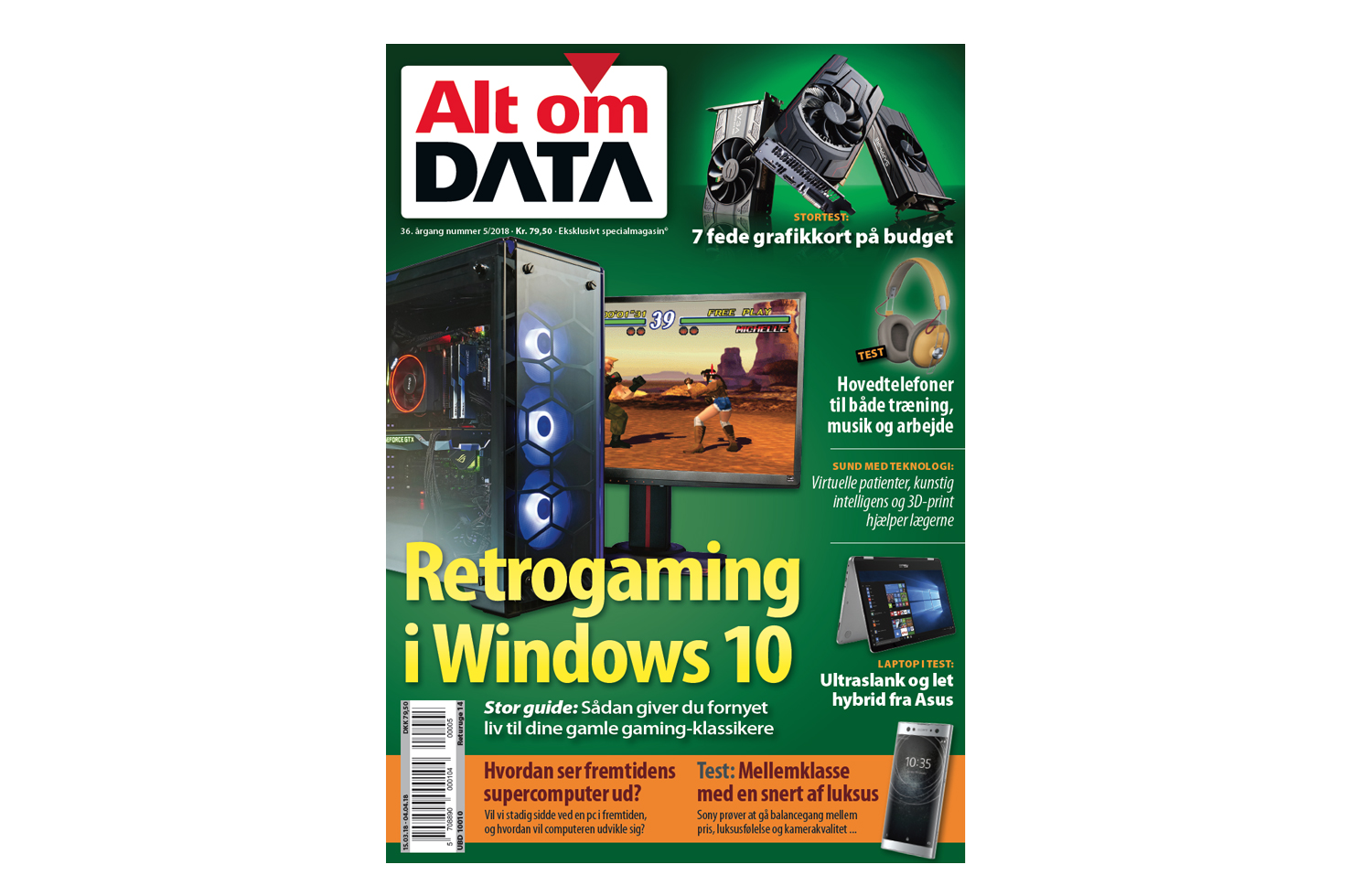 Nyt Alt om DATA: Retrogaming i Windows 10
