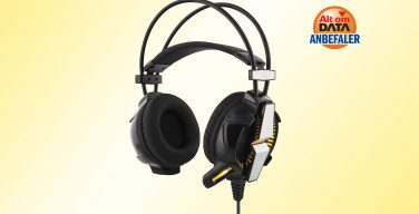 Deltaco Vibration Stereo Gaming Headset with LED Lights