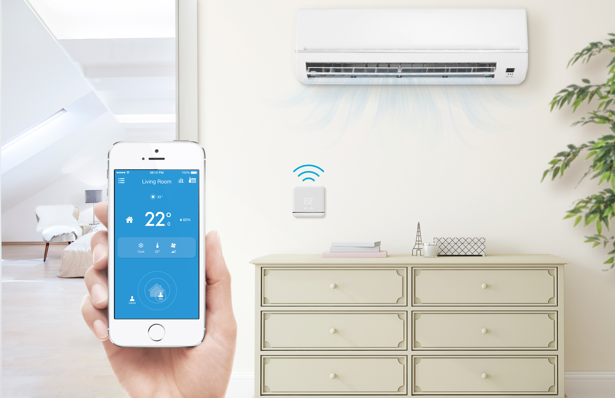 Smart air condition giver store besparelser