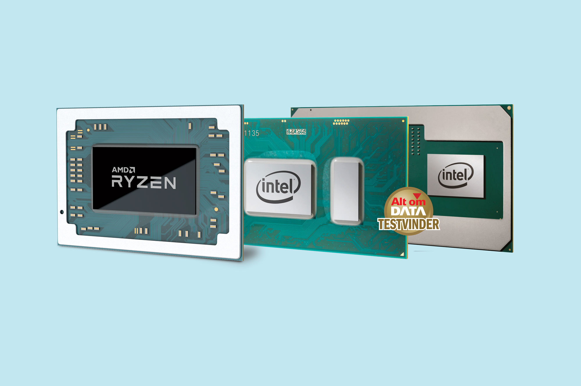 AMD Ryzen Mobile vs. Intel 8th Gen Mobile [TEST]: Hvilken mobilprocessor er bedst?