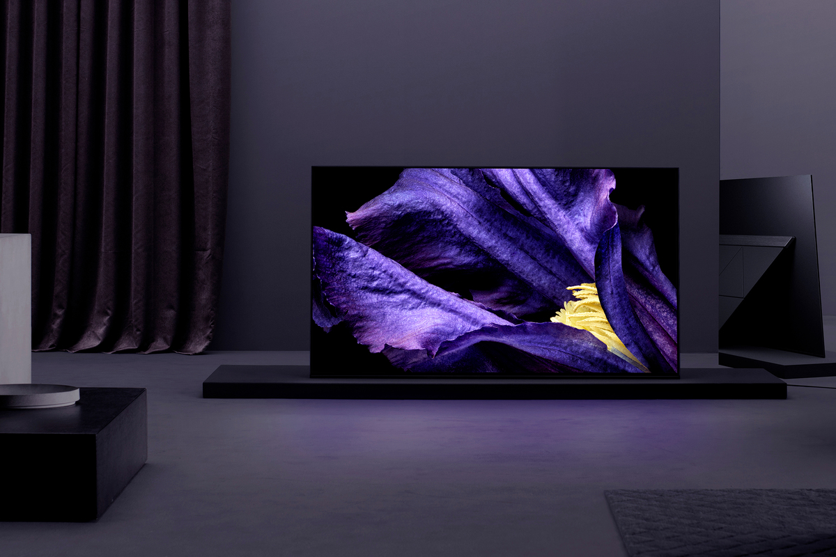 Nye high-end tv med 4K fra Sony