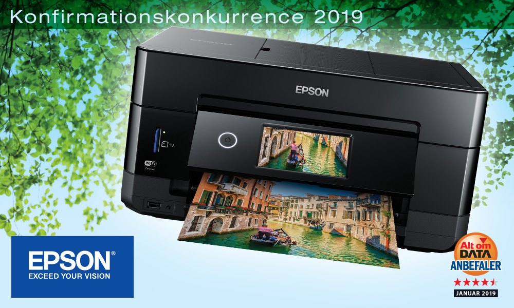 Konfirmation 2019 Epson Expression Premium XP-7100