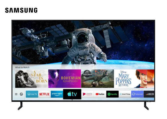 Nu er der AirPlay og Apple TV-app på Samsungs tv'er