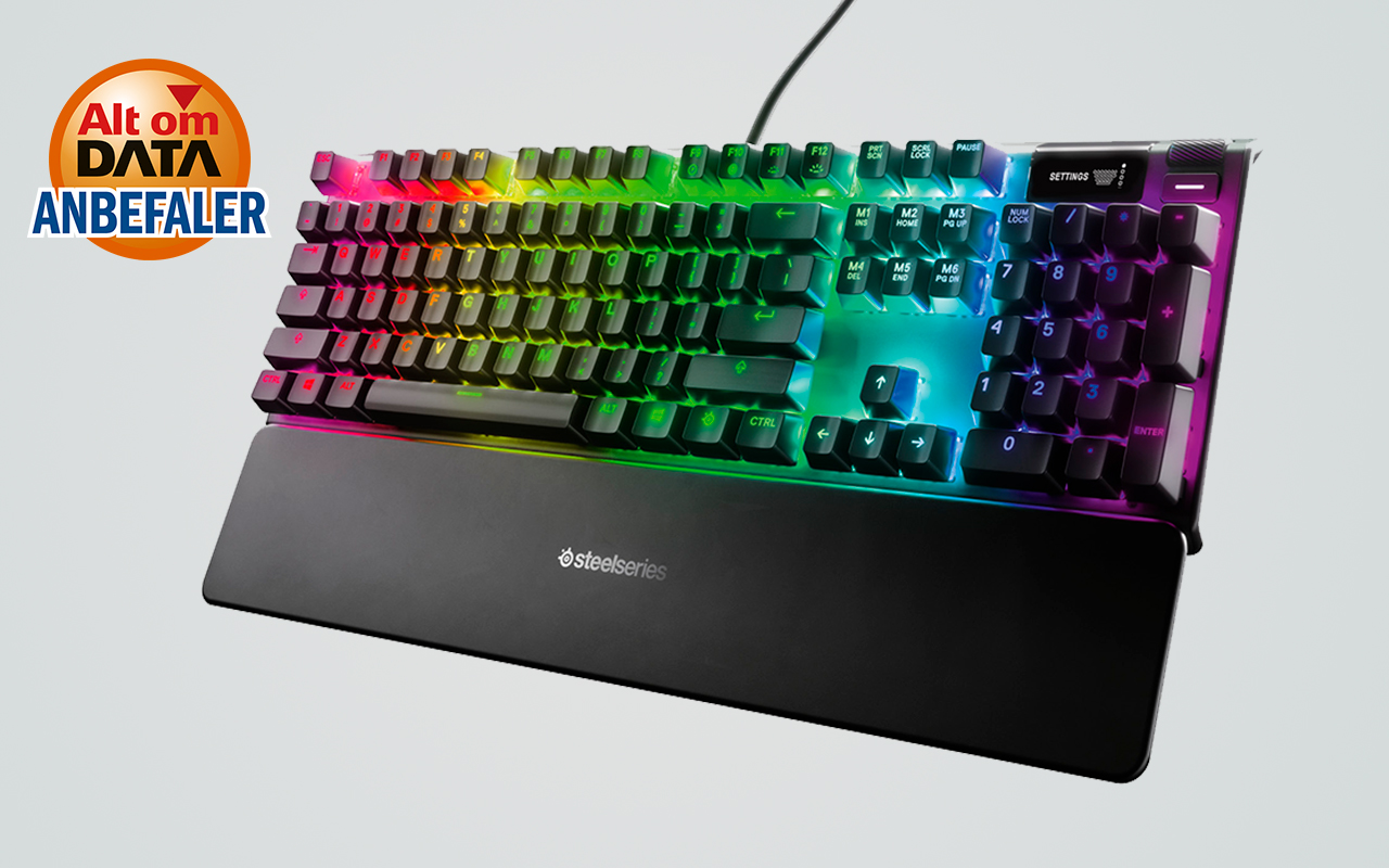 Steelseries Apex 7 [TEST]: Mekanisk gaming-tastatur giver ultimativ kontrol