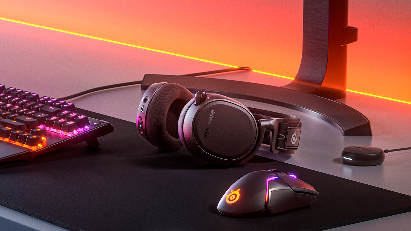 Steelseries klar med trådløst gaming-headset til pc, mobil og PlayStation
